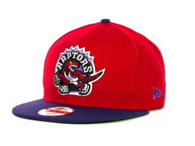 Toronto Raptors NBA Hardwood Classics 2 Tone Base Snap 9FIFTY Cap Hats