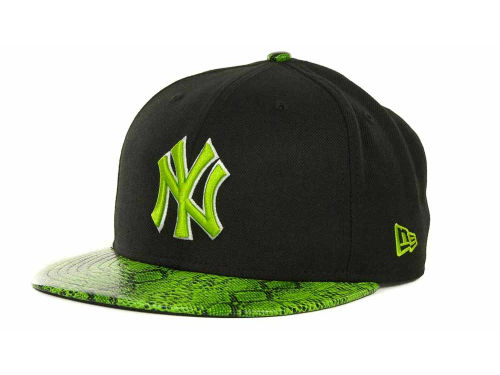 New York Yankees New Era MLB Snake Thru 9FIFTY Strapback Hats