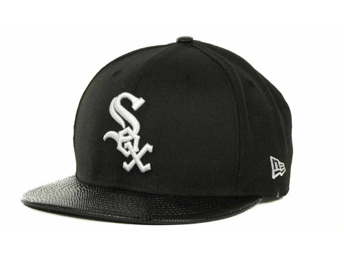 Chicago White Sox New Era MLB Snake Thru 9FIFTY Strapback Hats