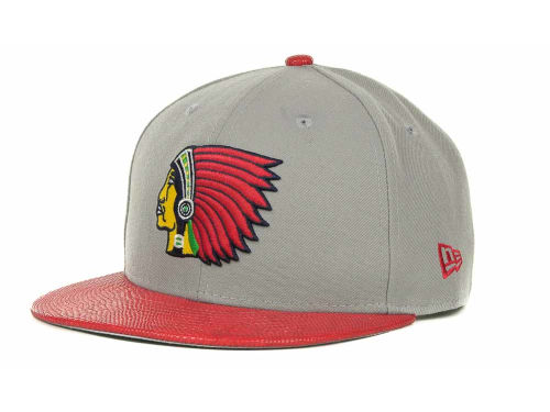 Boston Braves New Era MLB Snake Thru 9FIFTY Strapback Hats