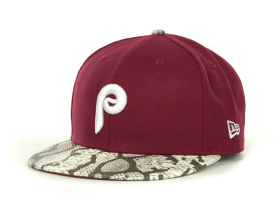 Philadelphia Phillies MLB Snake Thru 9FIFTY Strapback Hats