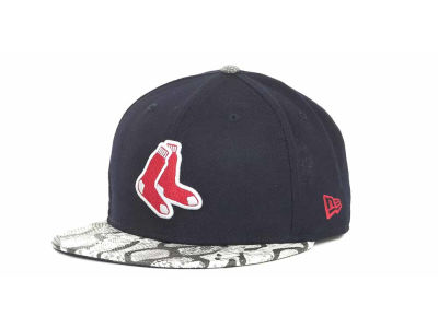 Boston Red Sox MLB Snake Thru 9FIFTY Strapback Hats