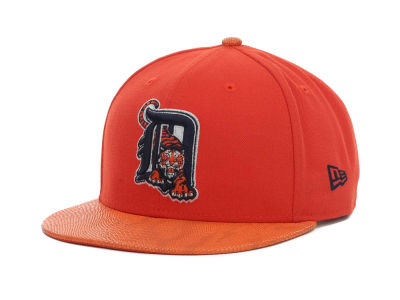 Detroit Tigers MLB Snake Thru 9FIFTY Strapback Hats