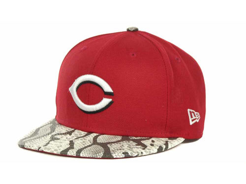 Cincinnati Reds New Era MLB Snake Thru 9FIFTY Strapback Hats