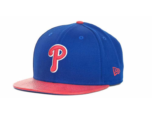 Philadelphia Phillies New Era MLB Snake Thru 9FIFTY Strapback Hats
