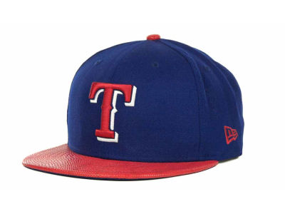 Texas Rangers MLB Snake Thru 9FIFTY Strapback Hats