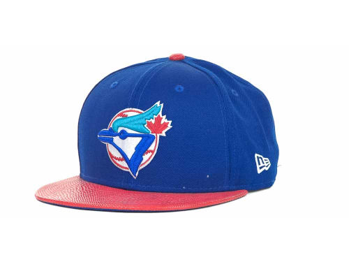 Toronto Blue Jays New Era MLB Snake Thru 9FIFTY Strapback Hats