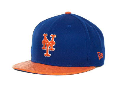 New York Mets MLB Snake Thru 9FIFTY Strapback Hats
