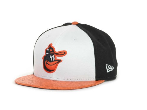 Baltimore Orioles New Era MLB Snake Thru 9FIFTY Strapback Cap Hats