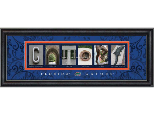 Florida Gators Campus Letter Art