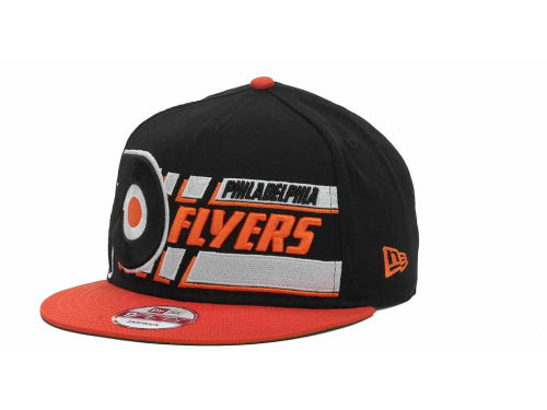 Philadelphia Flyers New Era NHL Line Change 9FIFTY Snapback Hats