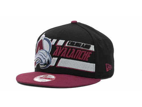 Colorado Avalanche New Era NHL Line Change 9FIFTY Snapback Hats