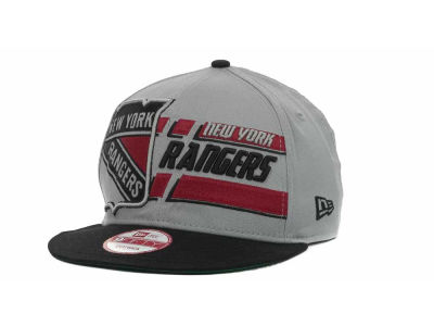 New York Rangers NHL Line Change 9FIFTY Snapback Hats