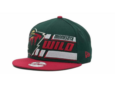 Minnesota Wild NHL Line Change 9FIFTY Snapback Hats