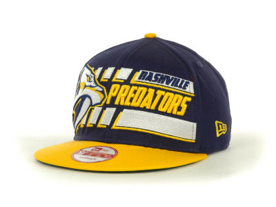 Nashville Predators NHL Line Change 9FIFTY Snapback Hats