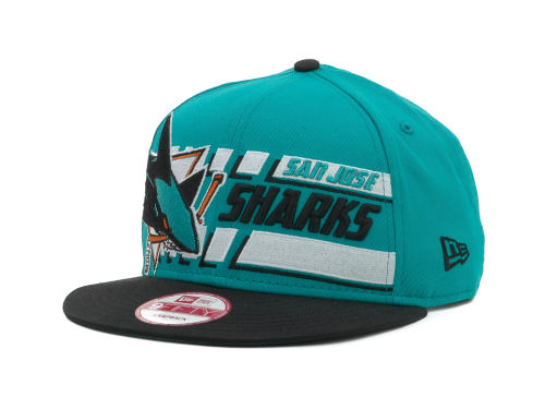 San Jose Sharks New Era NHL Line Change 9FIFTY Snapback Hats