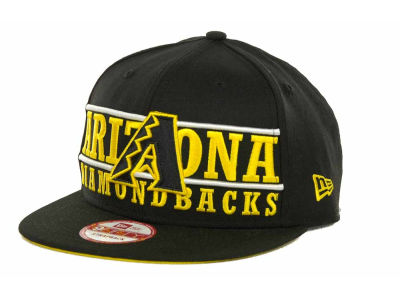 Arizona Diamondbacks MLB Neon Bar Strapback 9FIFTY Cap Hats