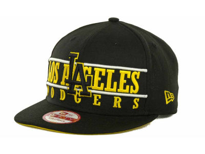 Los Angeles Dodgers MLB Neon Bar Strapback 9FIFTY Cap Hats
