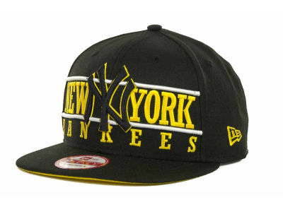 New York Yankees MLB Neon Bar Strapback 9FIFTY Cap Hats