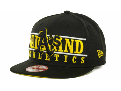Oakland Athletics MLB Neon Bar Strapback 9FIFTY Cap Hats