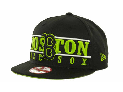 Boston Red Sox MLB Neon Bar Strapback 9FIFTY Cap Hats