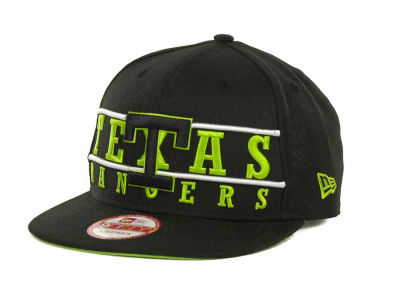 Texas Rangers MLB Neon Bar Strapback 9FIFTY Cap Hats