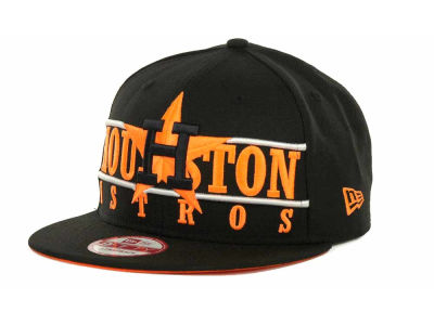 Houston Astros MLB Neon Bar Strapback 9FIFTY Cap Hats