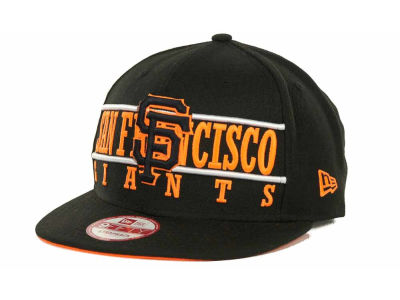 San Francisco Giants MLB Neon Bar Strapback 9FIFTY Cap Hats