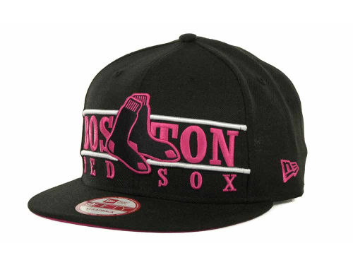 Boston Red Sox New Era MLB Neon Bar Strapback 9FIFTY Cap Hats