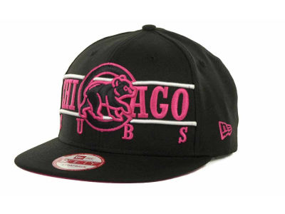 Chicago Cubs MLB Neon Bar Strapback 9FIFTY Cap Hats