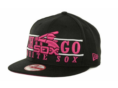 Chicago White Sox MLB Neon Bar Strapback 9FIFTY Cap Hats