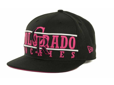 Colorado Rockies MLB Neon Bar Strapback 9FIFTY Cap Hats