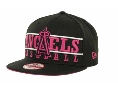 Los Angeles Angels of Anaheim MLB Neon Bar Strapback 9FIFTY Cap Hats