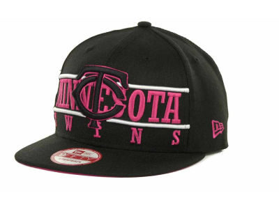 Minnesota Twins MLB Neon Bar Strapback 9FIFTY Cap Hats
