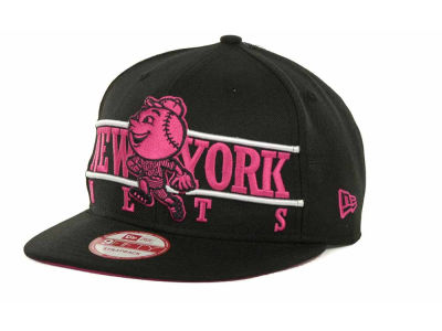 New York Mets MLB Neon Bar Strapback 9FIFTY Cap Hats