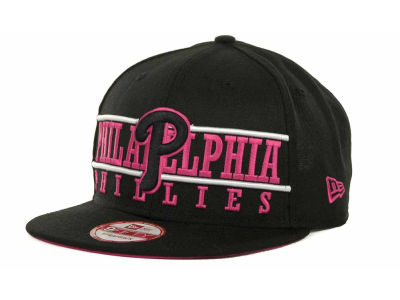 Philadelphia Phillies MLB Neon Bar Strapback 9FIFTY Cap Hats