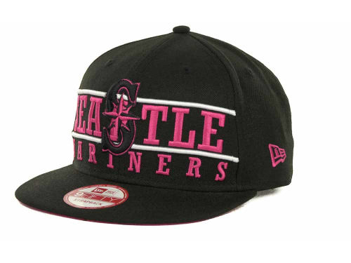 Seattle Mariners New Era MLB Neon Bar Strapback 9FIFTY Cap Hats