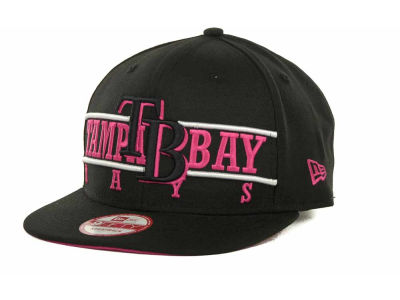 Tampa Bay Rays MLB Neon Bar Strapback 9FIFTY Cap Hats