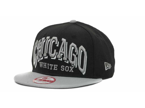 Chicago White Sox New Era MLB Mark Strapback 9FIFTY Cap Hats