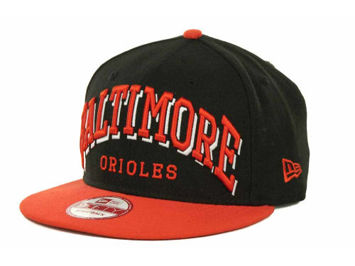 Baltimore Orioles New Era MLB Mark Strapback 9FIFTY Cap Hats