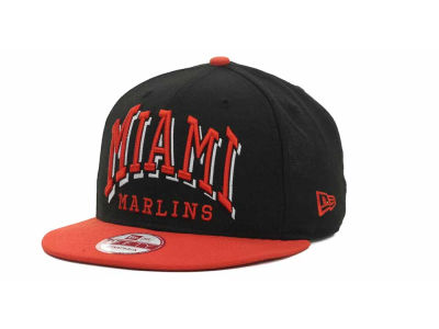 Miami Marlins MLB Mark Strapback 9FIFTY Cap Hats