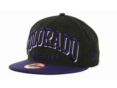 Colorado Rockies MLB Mark Strapback 9FIFTY Cap Hats