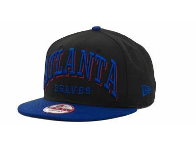 Atlanta Braves MLB Mark Strapback 9FIFTY Cap Hats