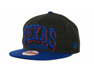 Texas Rangers MLB Mark Strapback 9FIFTY Cap Hats