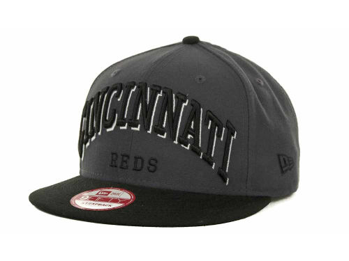 Cincinnati Reds New Era MLB Mark Strapback 9FIFTY Cap Hats