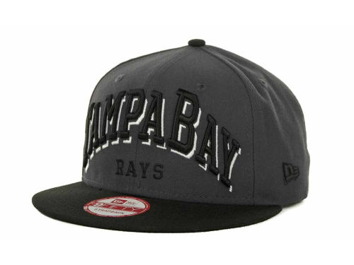 Tampa Bay Rays New Era MLB Mark Strapback 9FIFTY Cap Hats