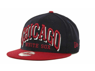 Chicago White Sox MLB Mark Strapback 9FIFTY Cap Hats