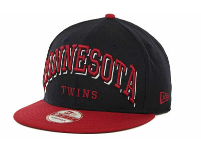 Minnesota Twins MLB Mark Strapback 9FIFTY Cap Hats
