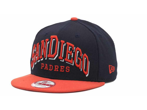 San Diego Padres New Era MLB Mark Strapback 9FIFTY Cap Hats