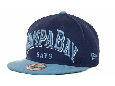 Tampa Bay Rays MLB Mark Strapback 9FIFTY Cap Hats